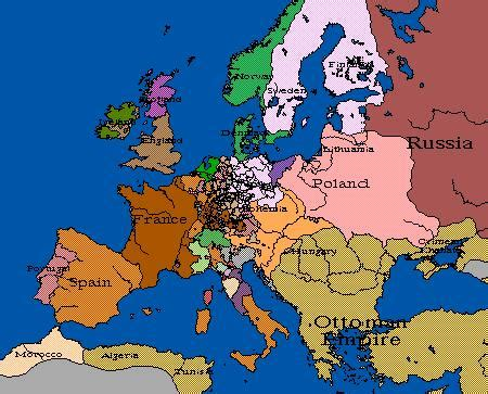 Image  Europe Map 1648png  Familypedia  Fandom Powered