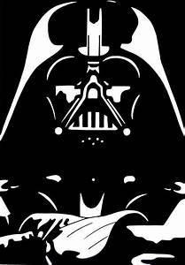 darth vader stencil - חיפוש ב-Google | Black space ...