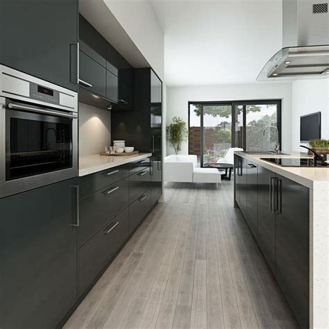 modern grey kitchen cabinets contemporary gray kitchen cabinets your kitchen design