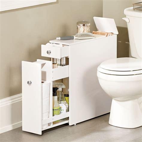 Slim Bathroom Cabinet Storage by Slim Bathroom Cabinet Fits In That Un Used Space Between