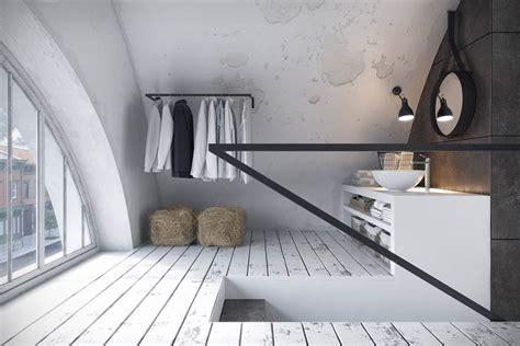examples  industrial modern rustic interior design