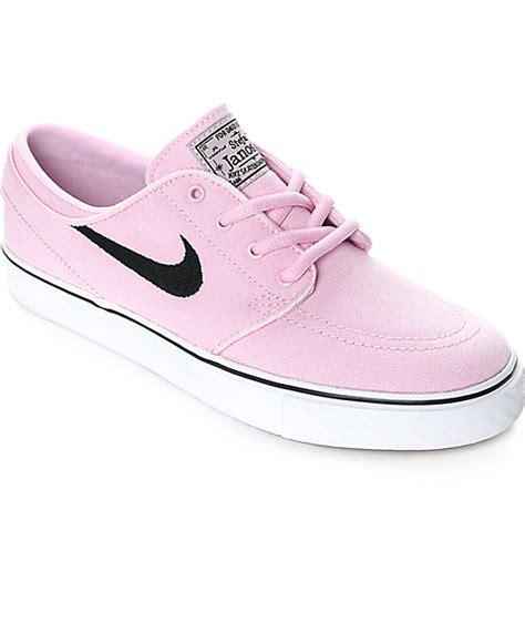 Nike SB Janoski Prism Pink Canvas Women's Skate Shoes | Zumiez