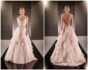 vestido de noiva 2015 sexy backless wedding dresses peach With peach colored dresses wedding