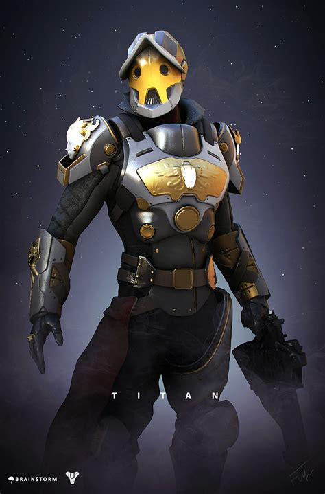 ArtStation - Destiny Titan Redesign, Alexander Fuhr
