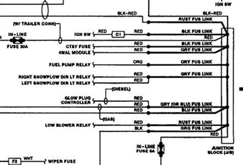 1989 Chevy 1500 Battery Wiring Diagram by Junction Block Wiring On Wall There Is Three Wires