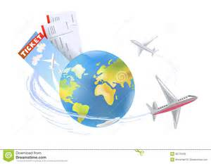 plane around the globe royalty free stock image image 35775426