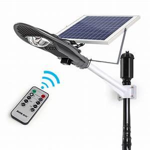 Aliexpress buy w remote control solar powered