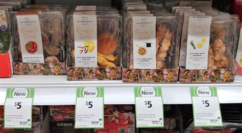 cuisine co on the shelf at coles 21st december 2017