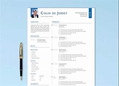 Resume Executive Template Cv Ai Format Templates