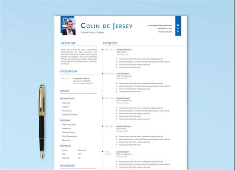 Curriculum vitae is going to play an essential role in fetching you the very job. Free Executive Resume Template - ResumeKraft