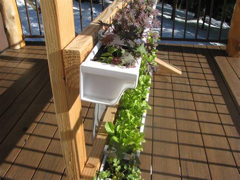 Gutter Vertical Garden by Vertical Gutter Gardens Peak Prosperity