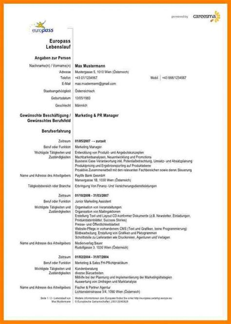 Lebenslauf Formular by 19 Lebenslauf Formular Historical Review