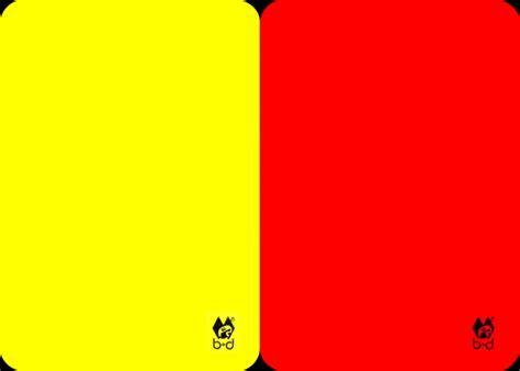 Gele kaart, rode kaart | Boomerang Community