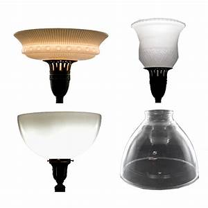 Floor lamp replacement glass shade torchiere gurus floor for Replacement lampshade for old floor lamps