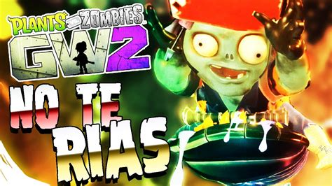 PLANTAS VS ZOMBIES GW2 INTENTA NO REÍRTE MOMENTOS