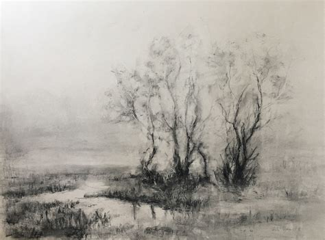landscape drawings  cecilie nyman