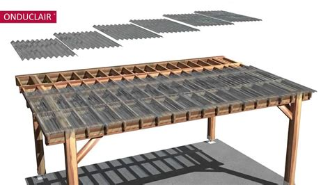 pergola design ideas pergola roof panels simple modern wooden stylish transparent grey roof