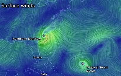 Hurricane Wind Animation Earth Matthew Nullschool Matthews