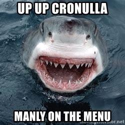 Cronulla Sharks Memes - great white shark meme generator