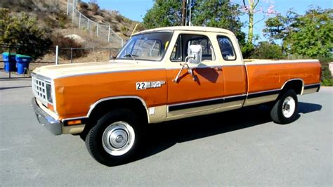 1981 Dodge W250 Power Ram 4x4 Club Cab 1 Owner 35K