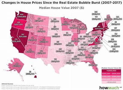 Housing Prices Median Market Bubble Estate States