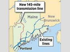 CMP wants to build 145mile transmission line through