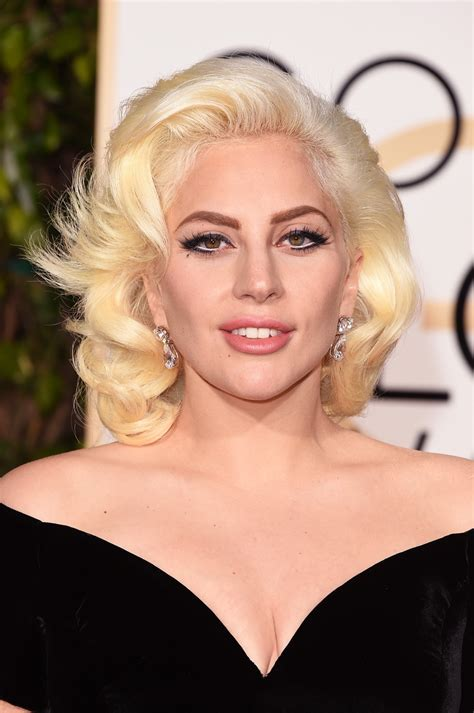 Lady Gaga's Golden Globes Makeup 2016  Popsugar Beauty