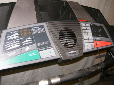 proform treadmill with fan items for sale october november 2012