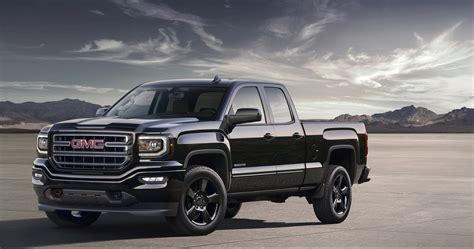 GMC Car : 2016 Gmc Sierra Elevation Edition Is An Appropriate Pickup