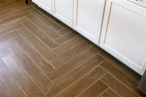 herringbone pattern tile floor robinson house decor