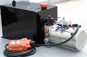 How To Wire Dc Hydraulic Power Pack Unit For Dump Trailer