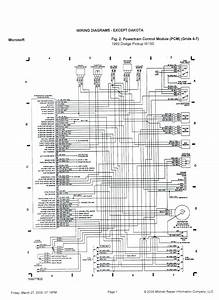1990 Dodge Dakota Fuse Box Diagram Wiring Schematic