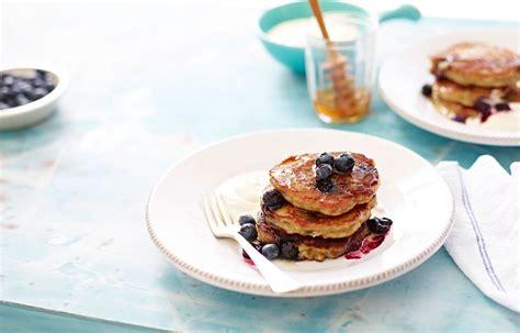 pancakes better homes and gardens banana blueberry and almond pancakes better homes and gardens