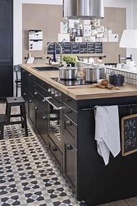 Deco Cuisine Ikea : cuisine metod laxarby d 39 ikea ~ Teatrodelosmanantiales.com Idées de Décoration