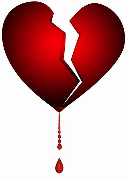 Broken Heart Emoji Break Bleeding Clipart Tattoo
