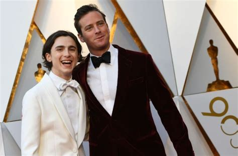 Armie Hammer explains thirsty comment on Timothee Chalamet ...