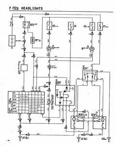 Trueno Headlight Motor Diagram