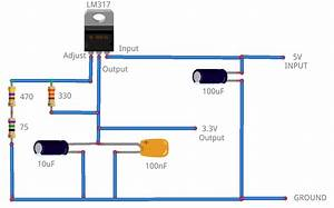 Lm317 To Output 3 3 Volts