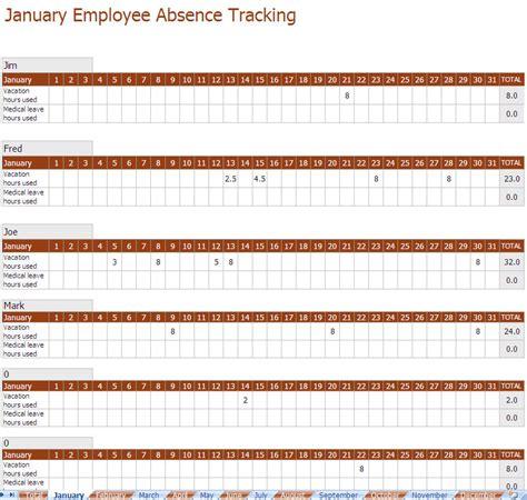 employee absence schedule   employee absence
