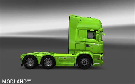 bring logistics scania rjl skin mod  ets