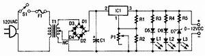 Build A 0 To 12v  1a Variable Power Supply Circuit Diagram