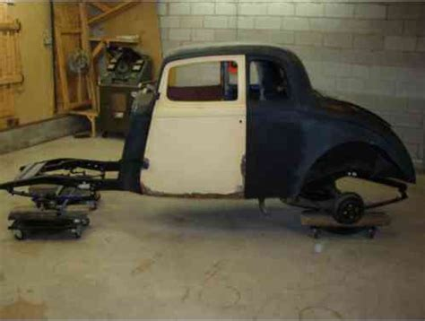 willys coupe coupe    fiberglass body  frame
