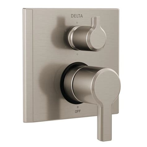 mount kitchen sinks delta pivotal 2 handle wall mount 6 setting integrated 6559