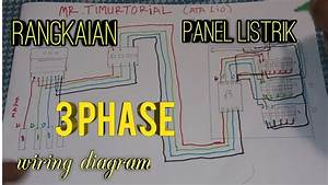 Rangkaian Sederhana Panel Listrik 3 Phase