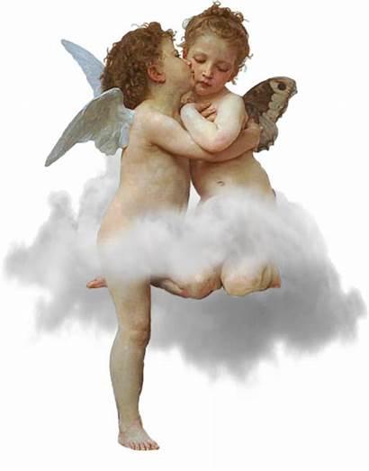 Angels Cherubs Transparent Cloud Boy Wings Sky