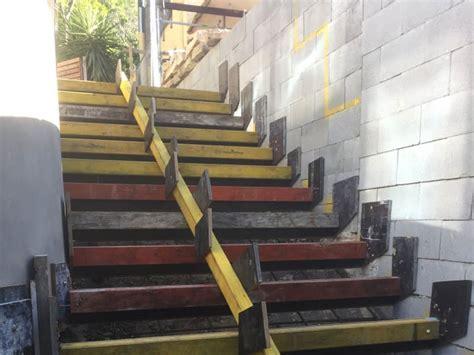 concrete stair design formwork  construction sydney