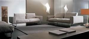Canapé Cuir Design : kristall canap 2 places en cuir vente en ligne italy ~ Voncanada.com Idées de Décoration