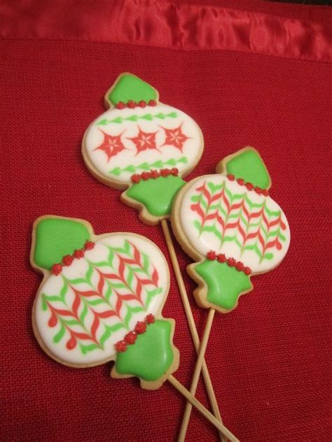 christmas ornament cookies sweet discoveries