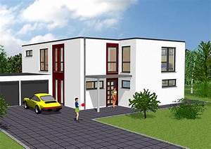 Häuser Im Bauhausstil : schl sselfertiges bauen von bauhausstilh suern gse haus ~ Watch28wear.com Haus und Dekorationen