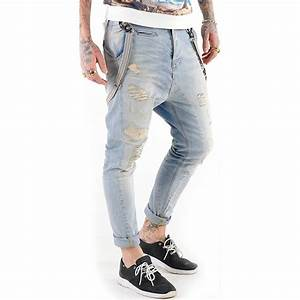 VSCT Jeans Herren Destroyed Brad Slim Fit Hose Gnstig